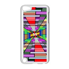 Art Vanishing Point Vortex 3d Apple Ipod Touch 5 Case (white)