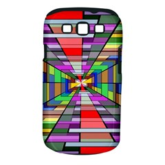 Art Vanishing Point Vortex 3d Samsung Galaxy S Iii Classic Hardshell Case (pc+silicone) by Nexatart