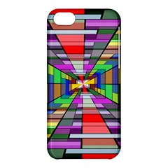 Art Vanishing Point Vortex 3d Apple Iphone 5c Hardshell Case