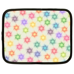 Polygon Geometric Background Star Netbook Case (large)