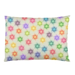 Polygon Geometric Background Star Pillow Case by Nexatart