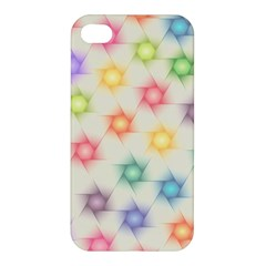 Polygon Geometric Background Star Apple Iphone 4/4s Premium Hardshell Case