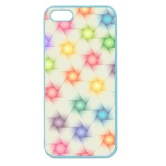 Polygon Geometric Background Star Apple Seamless Iphone 5 Case (color)