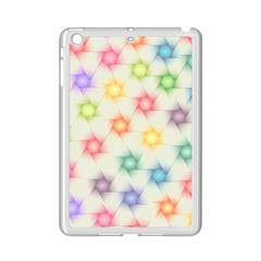 Polygon Geometric Background Star Ipad Mini 2 Enamel Coated Cases