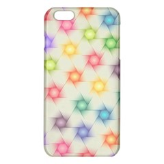 Polygon Geometric Background Star Iphone 6 Plus/6s Plus Tpu Case by Nexatart