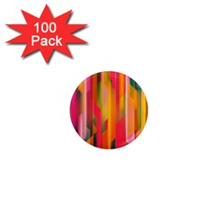 Background Abstract Colorful 1  Mini Magnets (100 Pack)