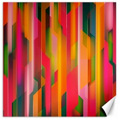 Background Abstract Colorful Canvas 20  X 20
