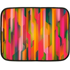 Background Abstract Colorful Double Sided Fleece Blanket (mini)