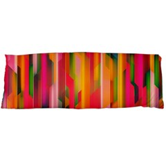 Background Abstract Colorful Body Pillow Case Dakimakura (two Sides) by Nexatart