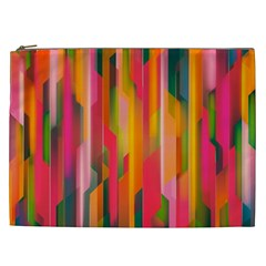 Background Abstract Colorful Cosmetic Bag (xxl)