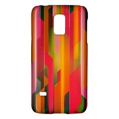 Background Abstract Colorful Samsung Galaxy S5 Mini Hardshell Case