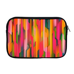 Background Abstract Colorful Apple Macbook Pro 17  Zipper Case by Nexatart
