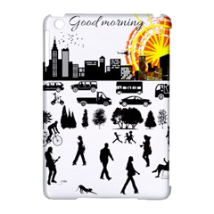 Good Morning, City Apple Ipad Mini Hardshell Case (compatible With Smart Cover) by FunnyCow