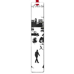 Good Morning, City Large Book Marks by FunnyCow