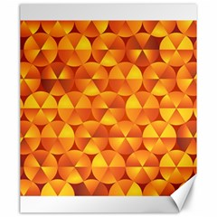 Background Triangle Circle Abstract Canvas 20  X 24