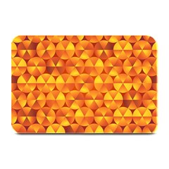 Background Triangle Circle Abstract Plate Mats by Nexatart