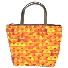 Background Triangle Circle Abstract Bucket Bags