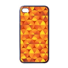 Background Triangle Circle Abstract Apple Iphone 4 Case (black)