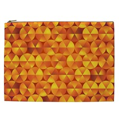 Background Triangle Circle Abstract Cosmetic Bag (xxl)