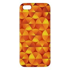 Background Triangle Circle Abstract Iphone 5s/ Se Premium Hardshell Case