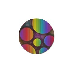 Background Colorful Abstract Circle Golf Ball Marker by Nexatart