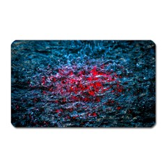 Water Color Red Magnet (rectangular) by FunnyCow