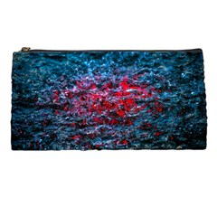 Water Color Red Pencil Cases