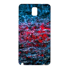 Water Color Red Samsung Galaxy Note 3 N9005 Hardshell Back Case
