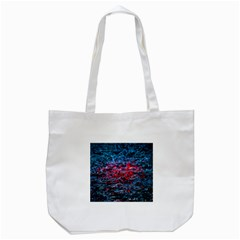 Water Color Red Tote Bag (white) by FunnyCow