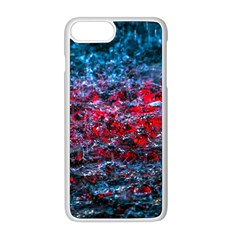 Water Color Red Apple Iphone 8 Plus Seamless Case (white) by FunnyCow