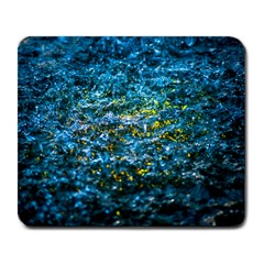 Water Color Yellow Large Mousepads by FunnyCow