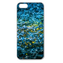 Water Color Yellow Apple Seamless Iphone 5 Case (clear) by FunnyCow