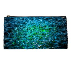 Water Color Green Pencil Cases by FunnyCow