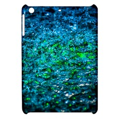 Water Color Green Apple Ipad Mini Hardshell Case by FunnyCow