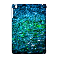 Water Color Green Apple Ipad Mini Hardshell Case (compatible With Smart Cover) by FunnyCow