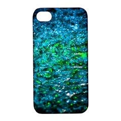 Water Color Green Apple Iphone 4/4s Hardshell Case With Stand by FunnyCow