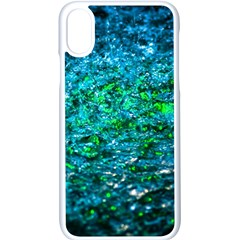 Water Color Green Apple Iphone X Seamless Case (white) by FunnyCow