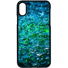 Water Color Green Apple Iphone X Seamless Case (black)
