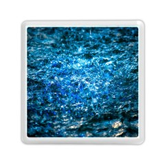Water Color Blue Memory Card Reader (square)  by FunnyCow