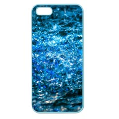 Water Color Blue Apple Seamless Iphone 5 Case (color) by FunnyCow