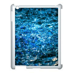 Water Color Blue Apple Ipad 3/4 Case (white) by FunnyCow