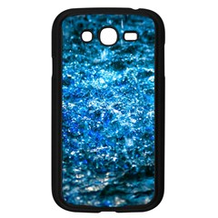 Water Color Blue Samsung Galaxy Grand Duos I9082 Case (black)