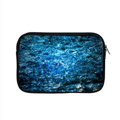 Water Color Blue Apple Macbook Pro 15  Zipper Case by FunnyCow