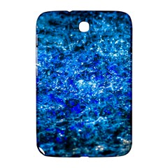 Water Color Navy Blue Samsung Galaxy Note 8 0 N5100 Hardshell Case  by FunnyCow