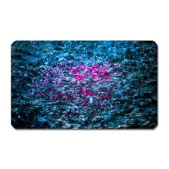 Water Color Violet Magnet (rectangular) by FunnyCow