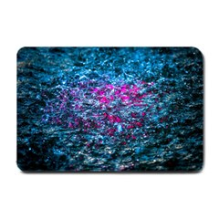 Water Color Violet Small Doormat  by FunnyCow