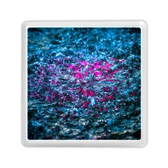 Water Color Violet Memory Card Reader (square)  by FunnyCow