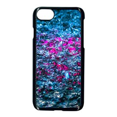Water Color Violet Apple Iphone 8 Seamless Case (black) by FunnyCow
