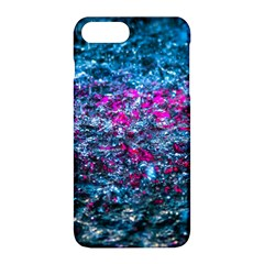 Water Color Violet Apple Iphone 8 Plus Hardshell Case by FunnyCow