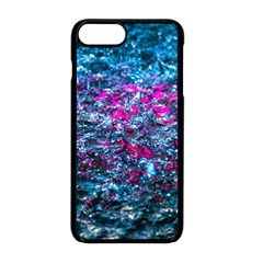 Water Color Violet Apple Iphone 8 Plus Seamless Case (black) by FunnyCow